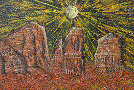 Cathedral Rock - 2012 - Oil on Canvas - 24 x 36 in. (61 x 91.4 cm)