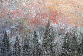 Cold Sunrise - 2012 - Oil on Canvas - 30 x 40 in. (76.2 x 101.6 cm)