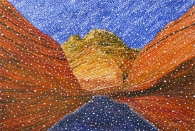 Paria Canyon - 2012 - Oil on Canvas - 30 x 40 in. (76.2 x 101.6 cm)