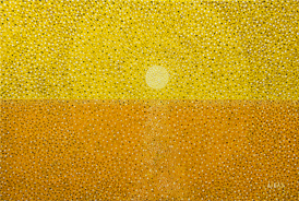 Sunset in Yellow - 2012 - Oil on Canvas - 24 x 36 in. (61 x 91.4 cm)