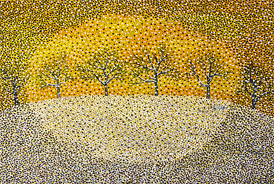 Yellow Winter - 2012 - Oil on Canvas - 30 x 40 in. (76.2 x 101.6 cm)
